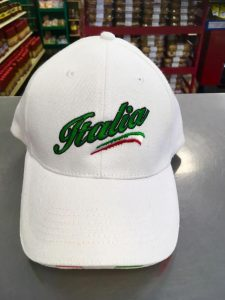 Italia Hat Frontal View