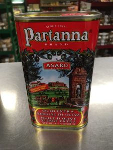 Partana extra-virgin olive oil 17 ounces