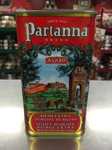 Partana extra-virgin olive oil 34 ounces