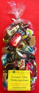 assorted toffee candies