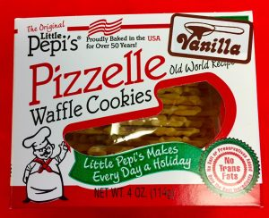 The Original Little Pepi's Pizzelle Waffle Cookies