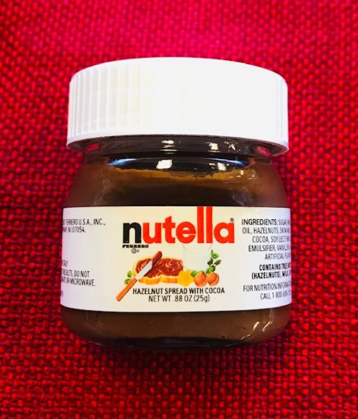 Mini Nutella hazelnut spread